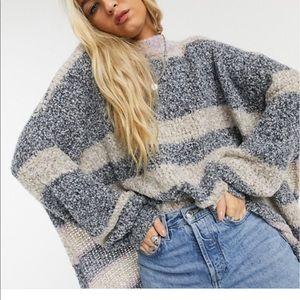 Free People BRB Oversized Sweater
